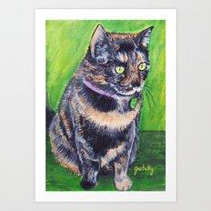 Little Miss Art Print