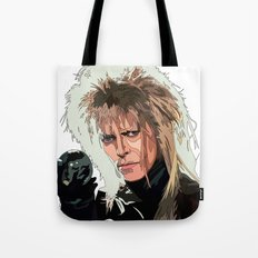 D. Bowie, inside the labyrinth Tote Bag