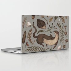 Weasel and Hedgehog Laptop & iPad Skin