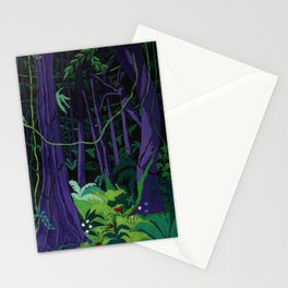 La Foresta Tropicale (Tropical Forest) Stationery Cards
