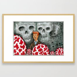 The Shooting Star Framed Art Print