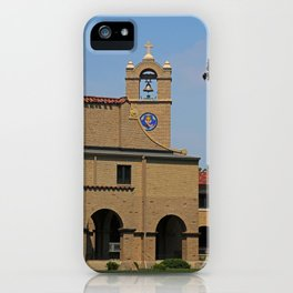Lourdes University  in the Spring I iPhone Case