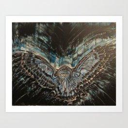 Shadow Owl - Bringer of Night Art Print