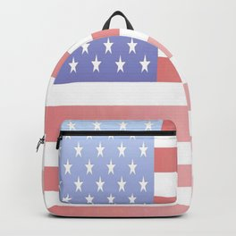 flag of the usa - with color gradient Backpack