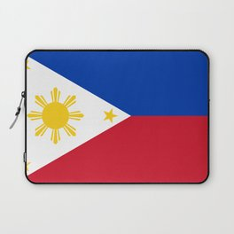 Republic of the Philippines national flag (50% of commission WILL go to help them recover) Laptop Sleeve