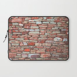 Brick Wall (Color) Laptop Sleeve