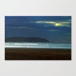 At the dawn Canvas Print