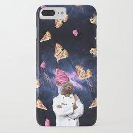 Cat Chef Pizza IceCream iPhone Case