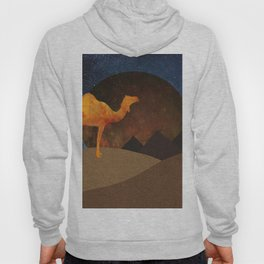 Camel, Desert and Pyramid Hoody