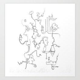 Dream no. 8 Art Print