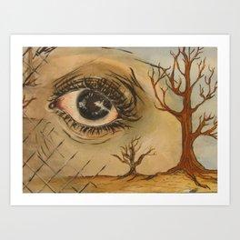 Desolate Soul Art Print