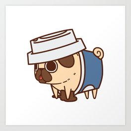 Puglie Coffee Art Print