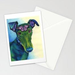 Margot & Butterfly Stationery Cards