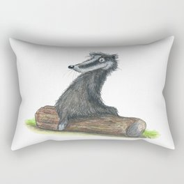 Badgers Date Rectangular Pillow