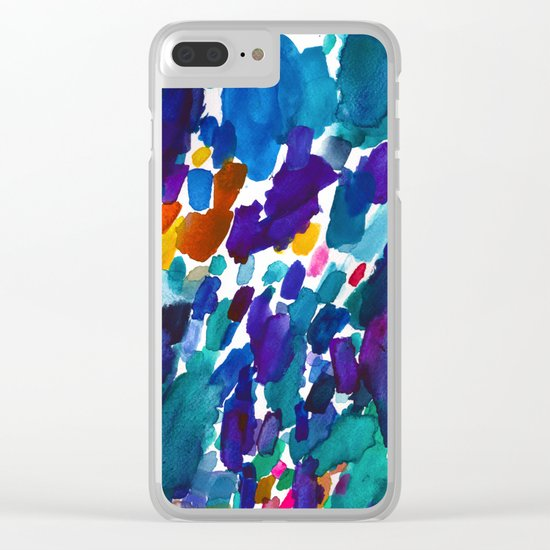 watercolor color study vol 1 Clear iPhone Case