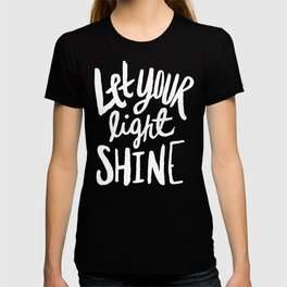 Let Your Light Shine x Rose T-shirt