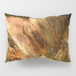 Yellow Rocks Of The Yellowstone Valley Pillow Sham