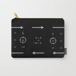 One, Zero, Infinity - An Artistic Proof Carry-All Pouch