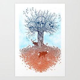 tree of death  Art Print