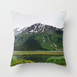 God's_Country - IIIbbd, Alaska Throw Pillow