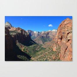 Zion Canyon Utah Canvas Print