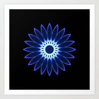 chakra Art Prints featuring Chakra by Mr. Pattern Man