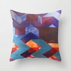 geo1 Throw Pillow