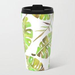 Tropic Fever —Greenery Version Travel Mug