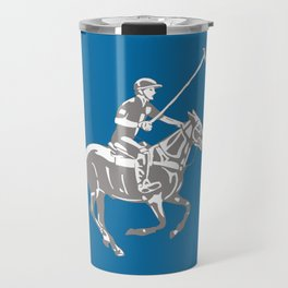 Polo pony and rider Travel Mug