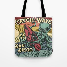 Catch the Wave Tote Bag