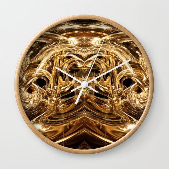 oro duo Wall Clock