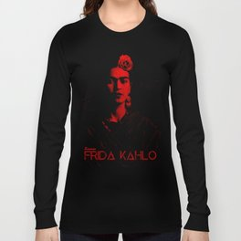 Frida Kahlo (Ver 6.1) Long Sleeve T-shirt