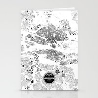 stockholm Stationery Cards featuring STOCKHOLM by Maps Factory