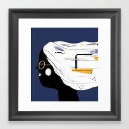 SAILHEAD Framed Art Print