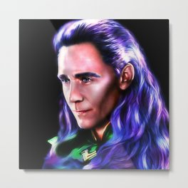 Loki - IW Version I Metal Print