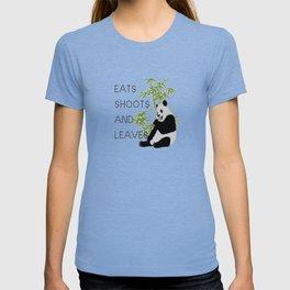 Eats, Shoots and Leaves T-shirt
