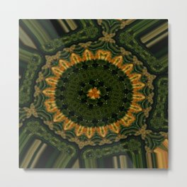 Sprocket Metal Print