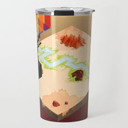 In the Rays of a Cloudless Sun Travel Mug