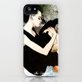 J Anne III Revisited iPhone Case