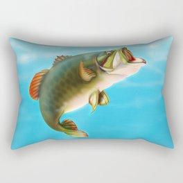 Carp Fishing  Rectangular Pillow