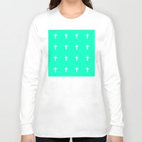 cross Long Sleeve T-shirts featuring Cross by HW Studio