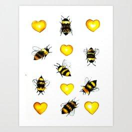 Bzz! Art Print