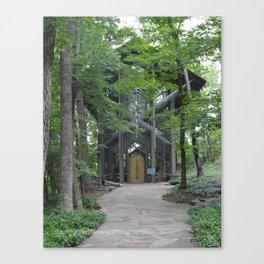 ThornCrown Chapel Canvas Print