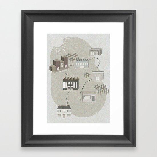 City Travels Framed Art Print