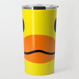 Sketchy Duck Travel Mug