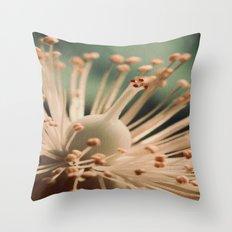 Toned Hypericum. Throw Pillow