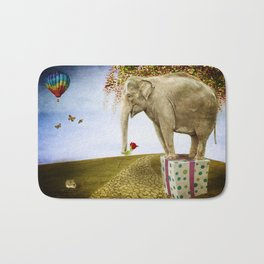 Good Things Don't Always Come in Small Packages Bath Mat