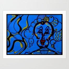 Gumballs (NEON) Art Print