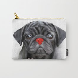 I love my pug Carry-All Pouch