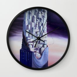 The Horizon of the Events Wall Clock